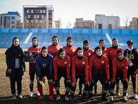 چرا مهناز افشار به تماشای فوتبال بانوان رفت؟ +تصاویر