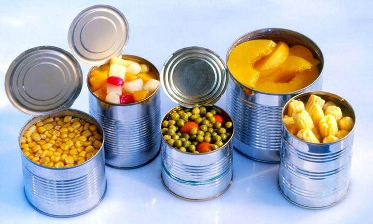 شرایط بدن بعد از مصرف غذاهای کنسروی