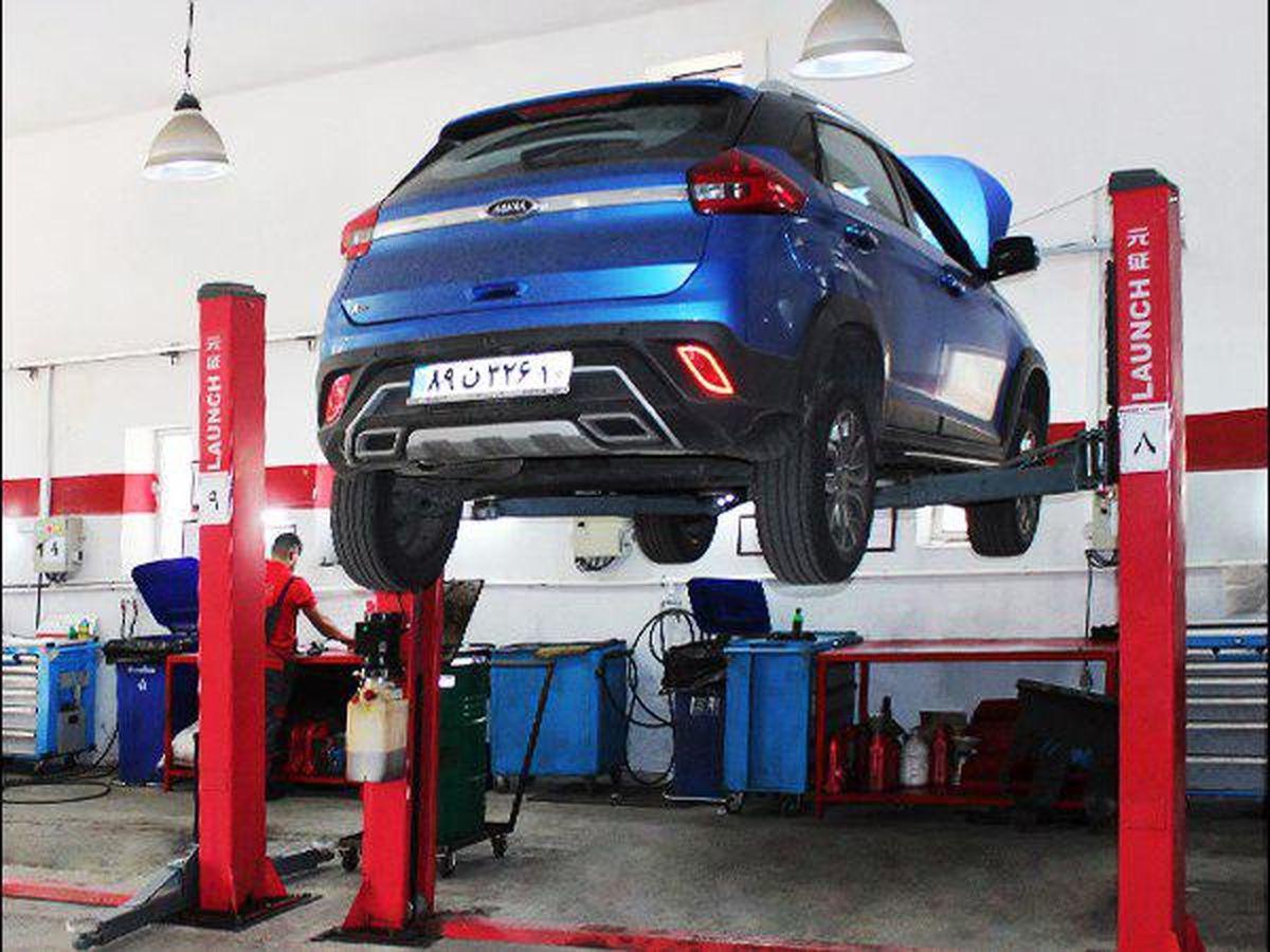 افزایش ظرفیت پذیرش Quick Service در  تعمیرگاه مرکزی مدیران خودرو